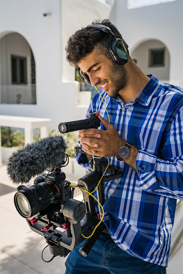 santorini videographer